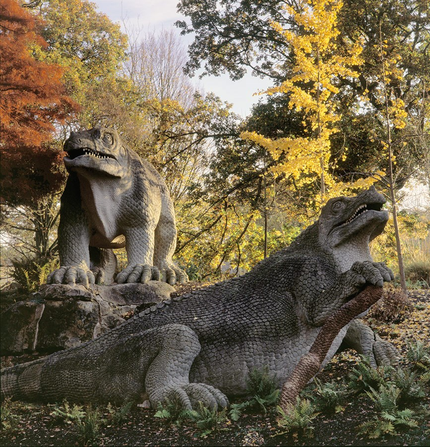 The Iguanodons In Autumn, 2011. Print Status: prints in preparation. To order a print please contact info@maxarush.com