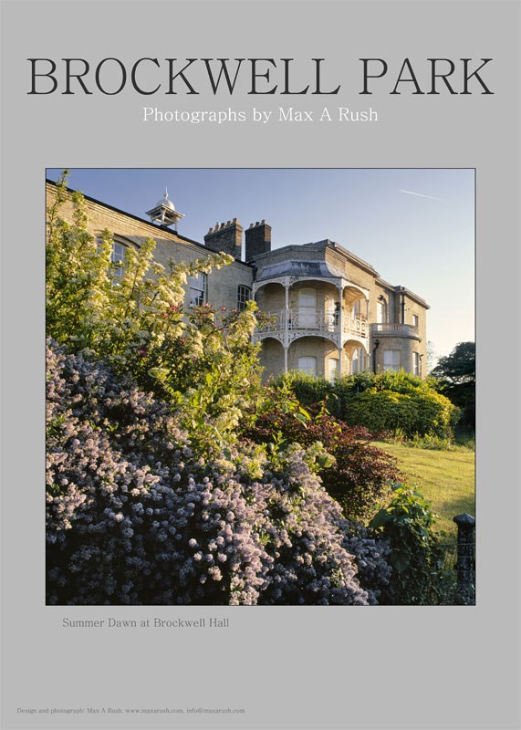 Brockwell Park Poster, Summer. £5 each. To order, please contact info@maxarush.com