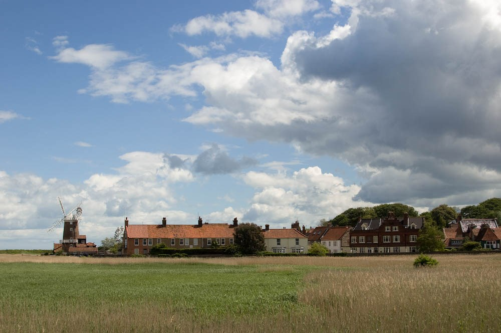 Cley from the Marshes I, 2013