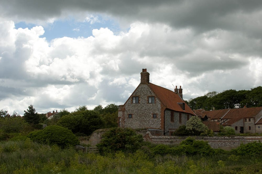 Cley with Passing Showers, 2013