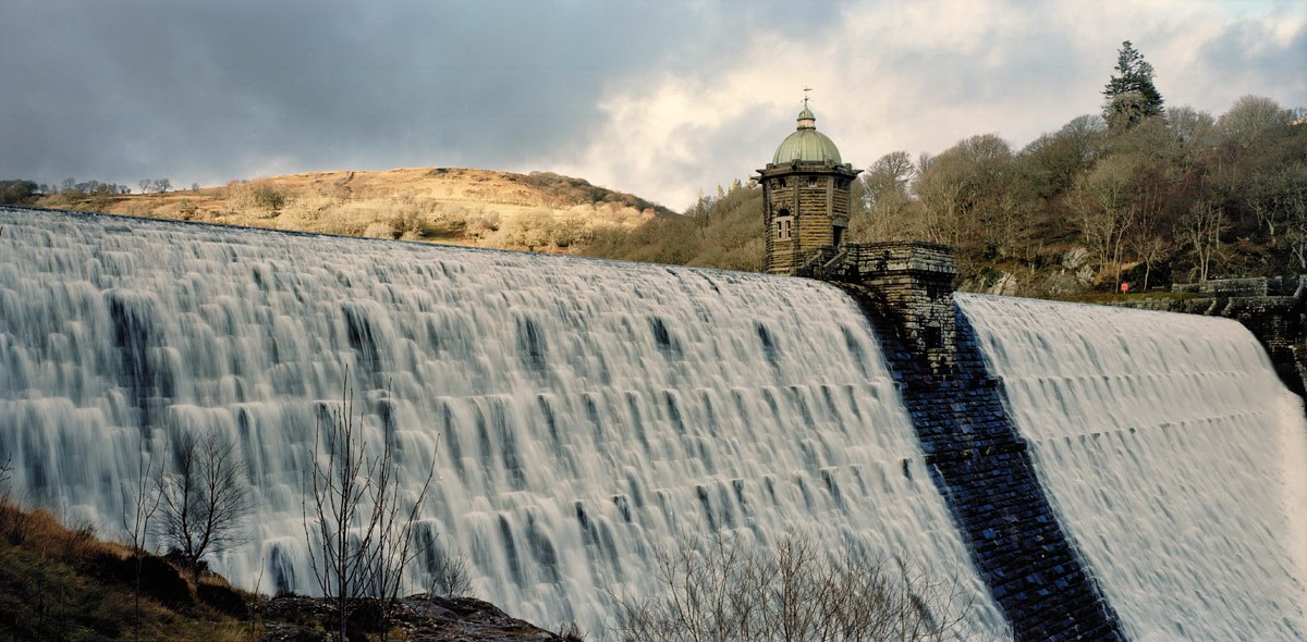 Pen y Garreg Dam in December, 2013. Print Status: not yet printed. To order a print please contact info@maxarush.com