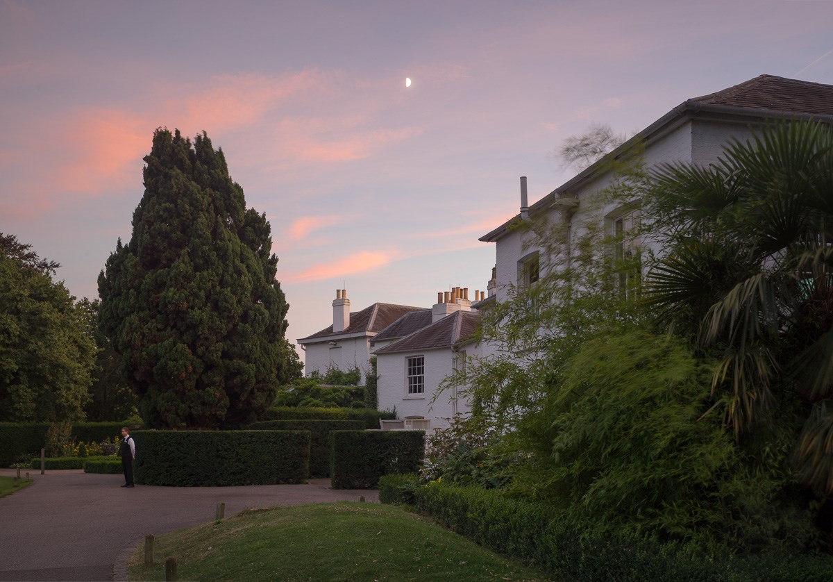 Summer Twilight, Pembroke Lodge, August 2016. To order a print please contact info@maxarush.com