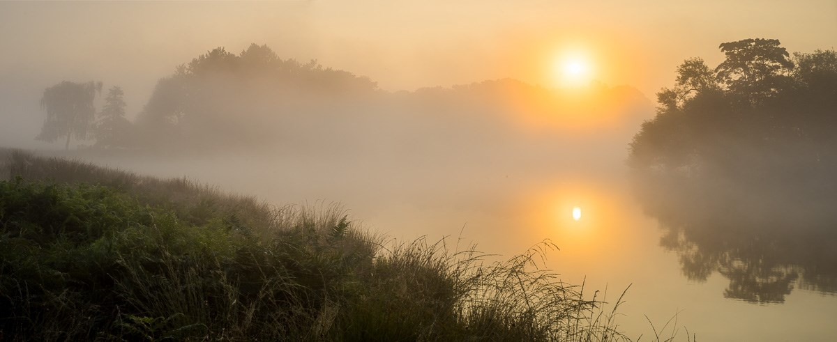 Pen Ponds Sunrise Panorama, August 2016. To order a print please contact info@maxarush.com